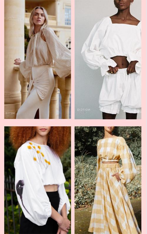 2022春夏上衣&衬衫的流行点,你get到了吗?(图12)