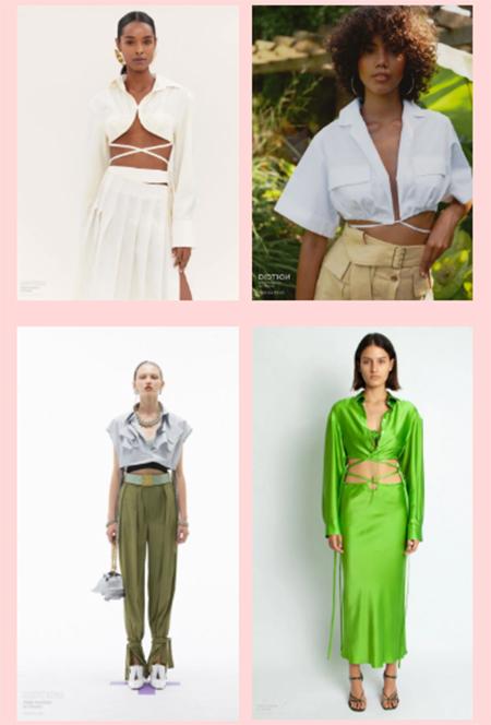 2022春夏上衣&衬衫的流行点,你get到了吗?(图8)