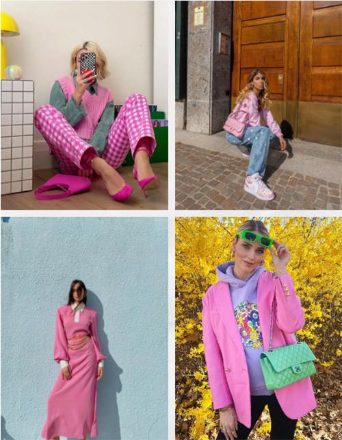 盘点2021第一季度流行色彩,看女装市场色彩趋势!(图7)