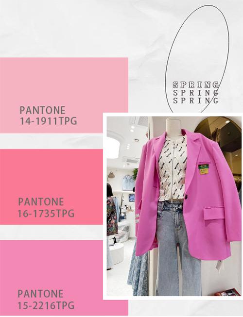 盘点2021第一季度流行色彩,看女装市场色彩趋势!(图3)