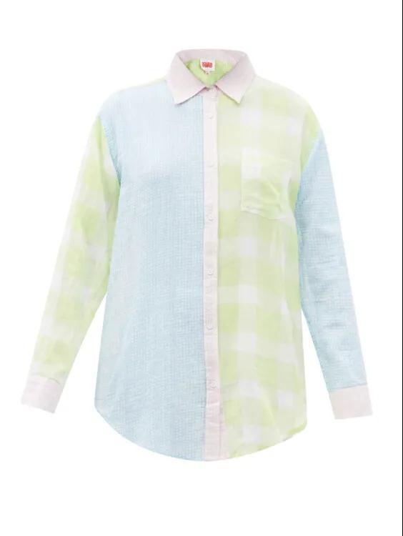 2021春夏女装流行趋势 拼接衬衫是今年春季的大趋势(图13)