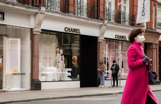 Chanel伦敦店铺