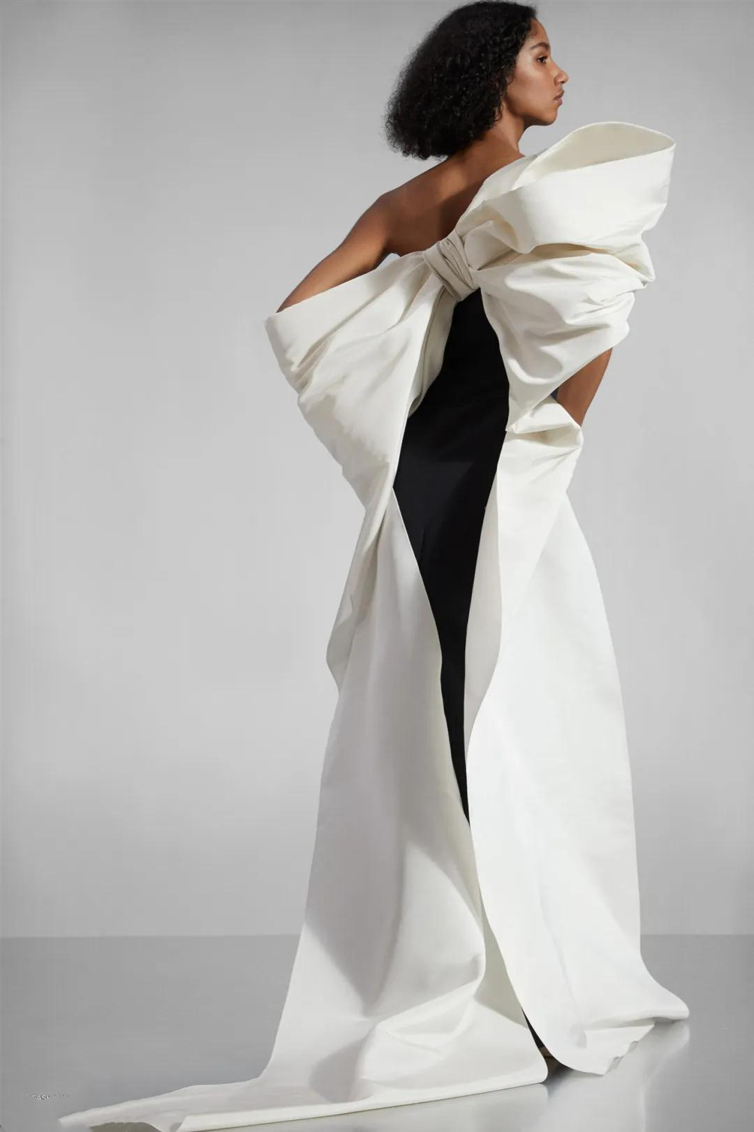 女装流行元素分析 蝴蝶结元素在服装设计中的运用(图6)