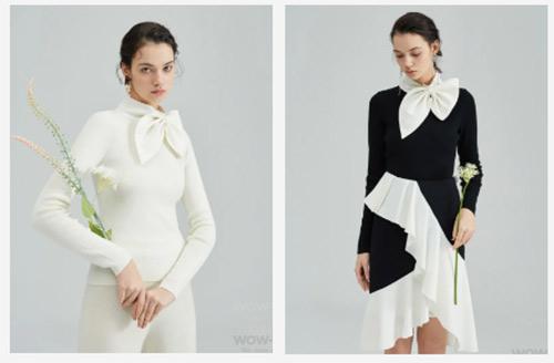 女装流行元素分析 蝴蝶结元素在服装设计中的运用(图29)