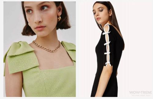 女装流行元素分析 蝴蝶结元素在服装设计中的运用(图30)