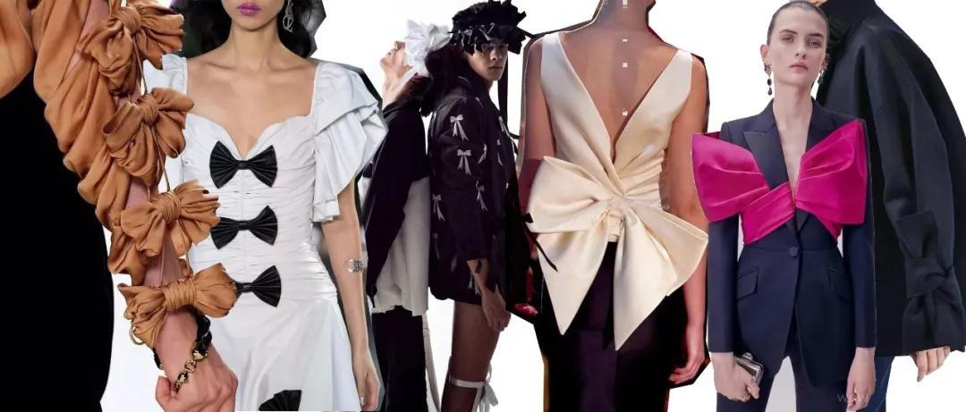 女装流行元素分析 蝴蝶结元素在服装设计中的运用(图49)
