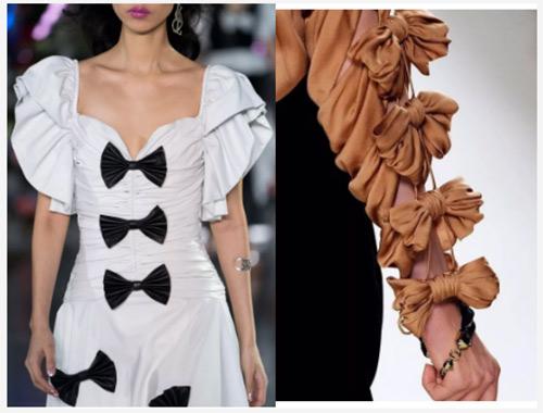 女装流行元素分析 蝴蝶结元素在服装设计中的运用(图34)