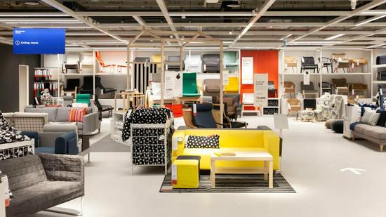 IKEA内部陈设 图片来源:qz.com©IKEA