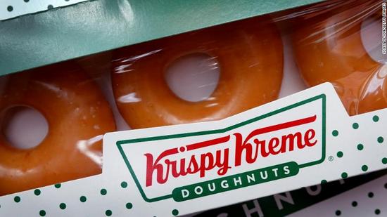 Krispy Kreme甜甜圈 图片来源:edition.cnn.com