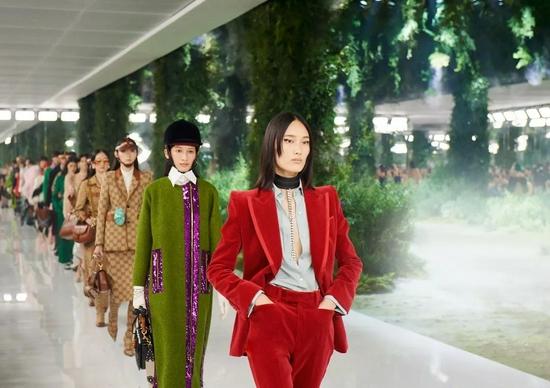 """Gucci在六月于上海举办""""Aria-时尚咏叹调""""系列时装秀"""