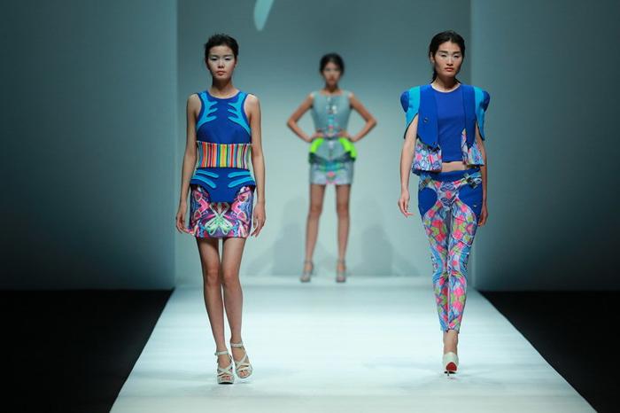 中法埃菲时装设计师学院2015春夏系列-服装时装秀场