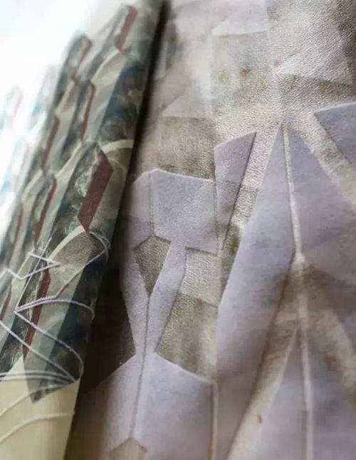 這是小編自己收集的-面料再造(肌理)-服裝設計管理