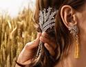 香奈儿上海高级珠宝展,全是麦穗!