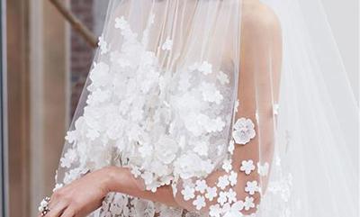 除了赞叹,你还应知道2018春夏婚纱的这7个趋势