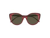编织风继续蔓延!Bottega Veneta 2017 秋冬推出「立体编织」图案的太阳眼镜!