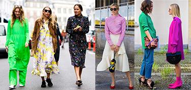 黑白灰的时代过去了?看看哥本哈根时装周上的小仙女们怎么穿