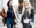 皮衣搭配,女性也能又酷又时髦!