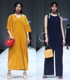 中国国际时装周18AW| 李雪梅 夏日远山的一抹葱翠