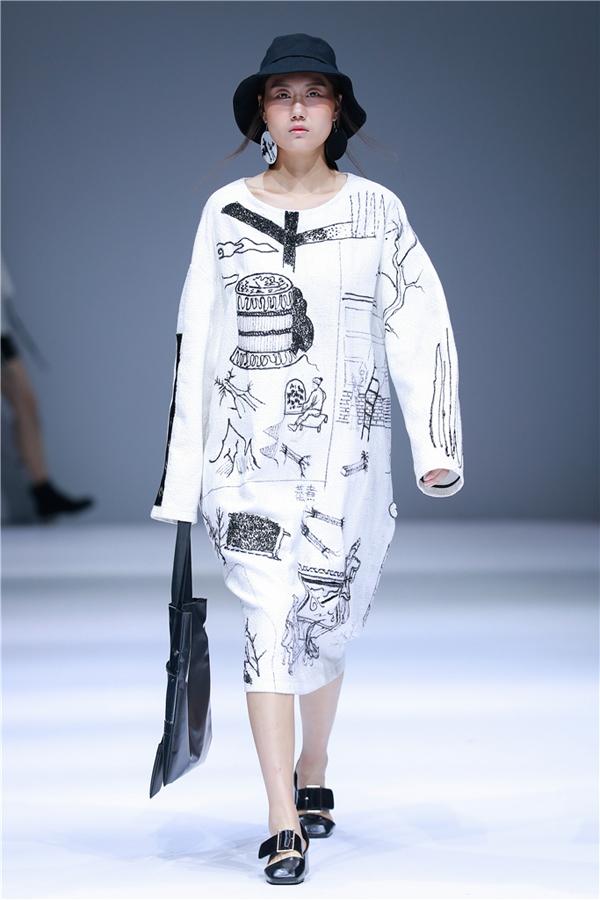 服装材质表现手绘图