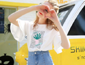 T恤&超短裙,夏日最佳时尚CP!