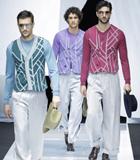 Giorgio Armani(乔治・阿玛尼)于米兰男装周发布2019春夏系列男装