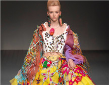 伦敦时装周| Matty Bovan 2019春夏系列