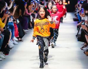 未来的少年BOY LONDON KIDS童真酷炫2018中国国际儿童时尚周