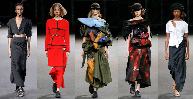 巴黎时装周| Yohji Yamamoto 2019春夏系列