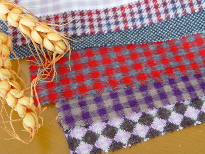 青海蚕丝纺织品远销国外