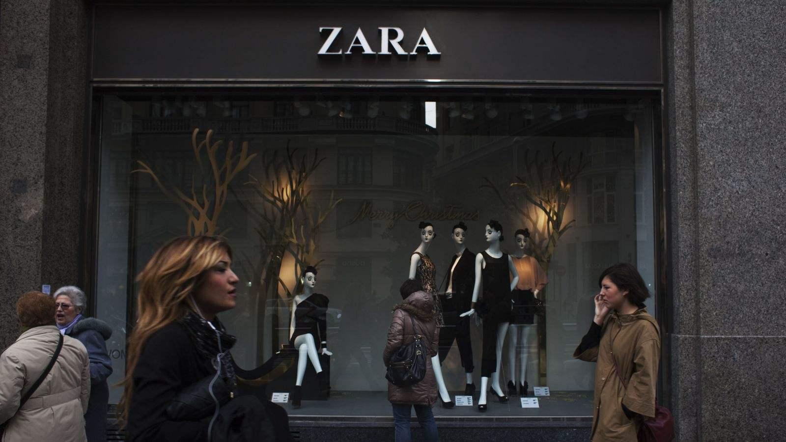 Zara仍在苦苦挣扎
