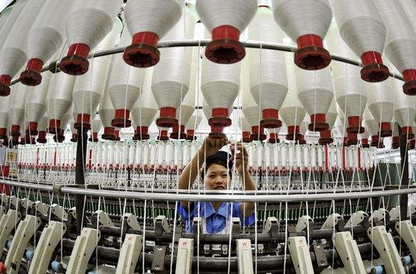 纺机行业一季度运行保持稳定 营收和利润达两位数增长