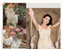 """"""" 油画裙 """"才是真洋气,今年夏天最美的裙子"""