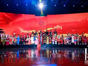 古阿新携56个民族服饰,惊艳亮相2021西南国际少儿时装周