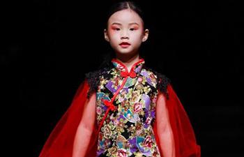 �x姬携轮回之境主题,首次亮相2021西南国际少儿时装周