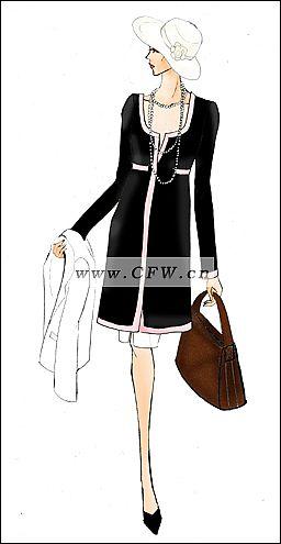 我的时装画和商业设计2