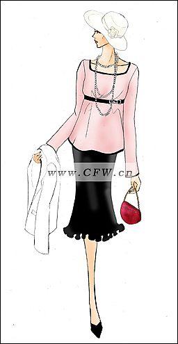 我的时装画和商业设计3