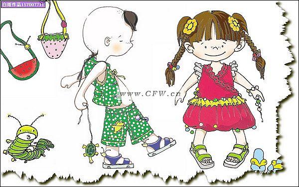 童装趋势演出服