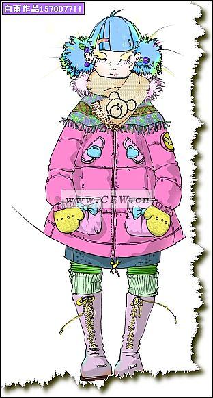 童装羽绒服设计