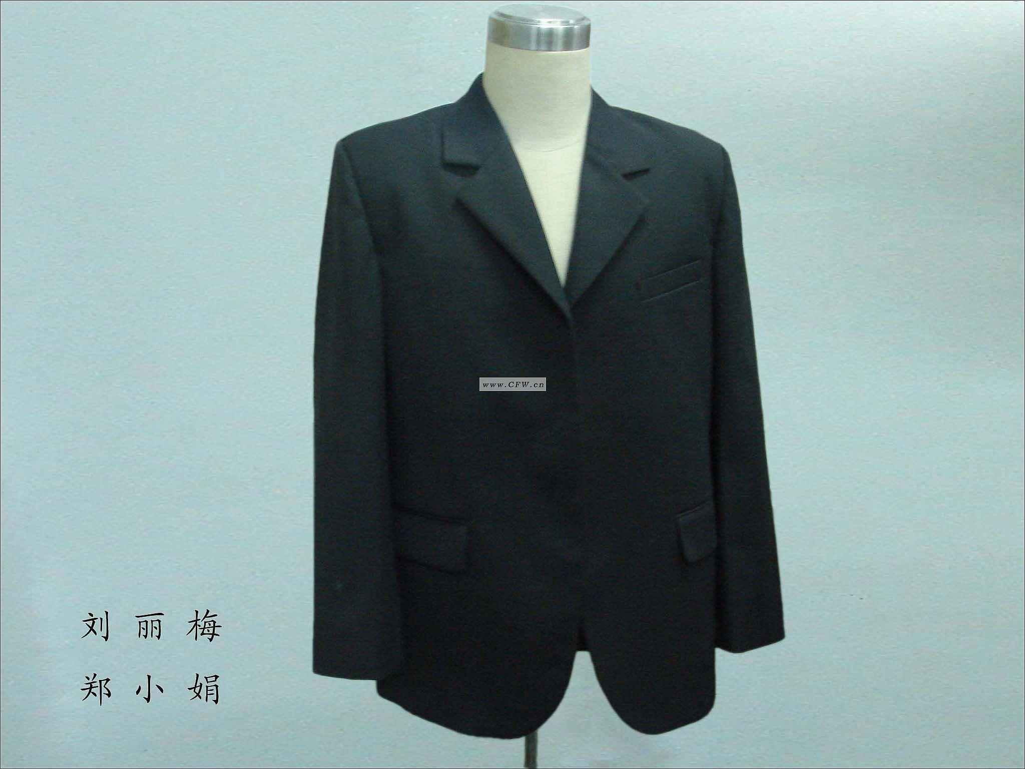 西服精做-男装设计-服装设计