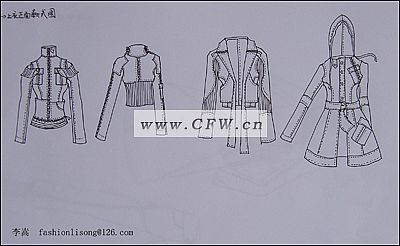 线描搞-女装设计-服装设计-服装设计网手机版|触屏版