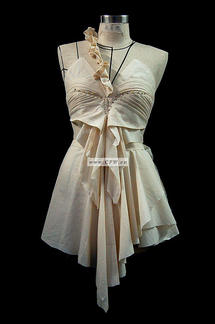 我的立裁1-婚纱礼服设计-服装设计