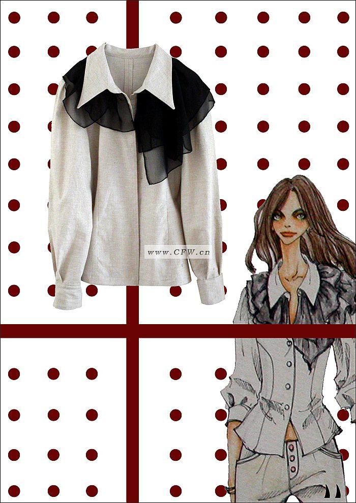 花语-衬衫