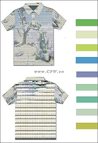 T恤花样设计a