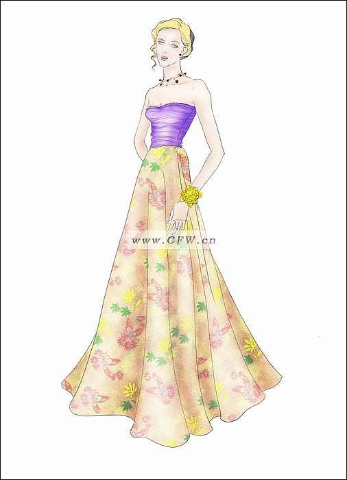photoshop绘画-图案设计设计-服装设计
