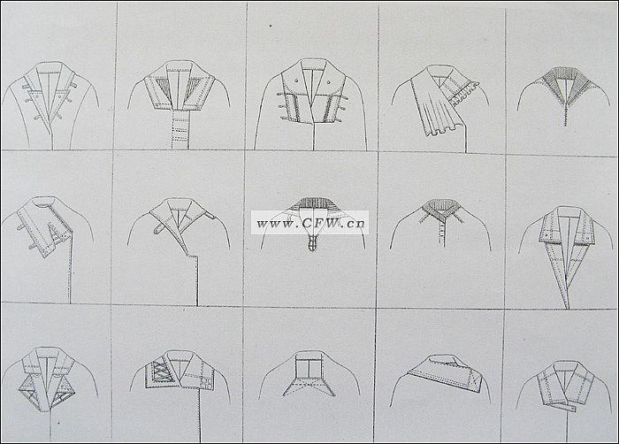 领子-女装设计-服装设计图片