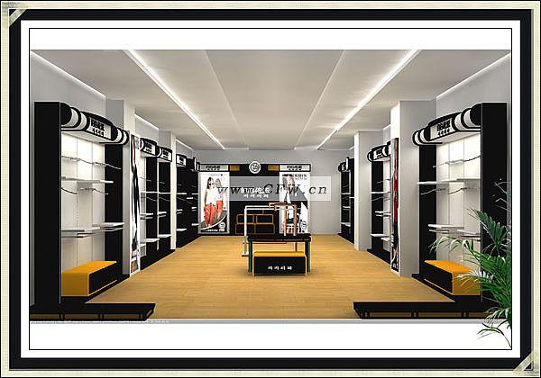 卖场展示-橱窗陈列设计-服装设计