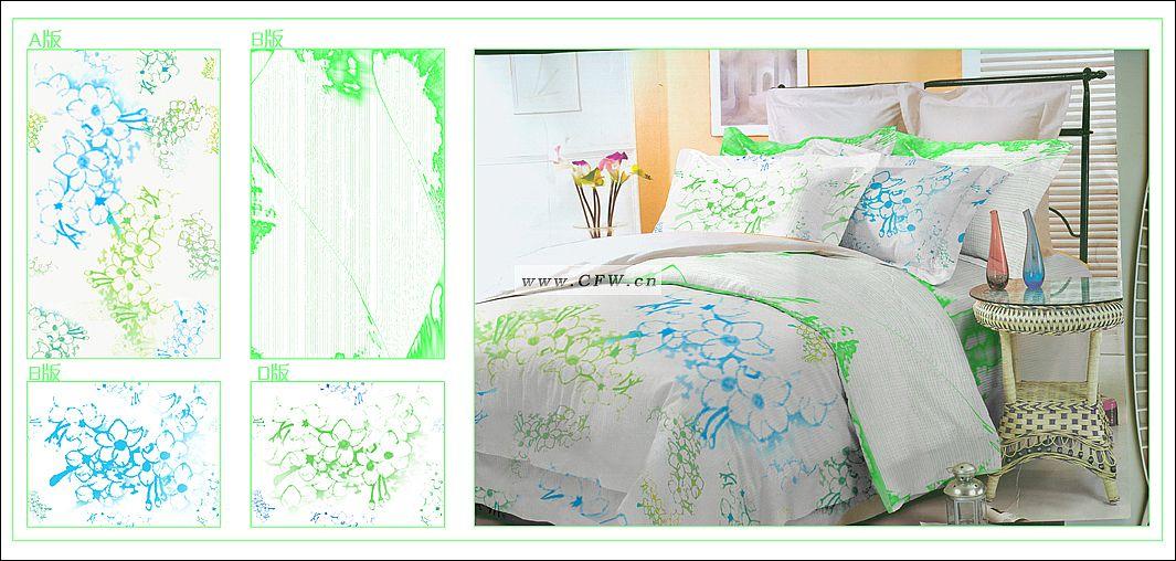 床上用品配套设计