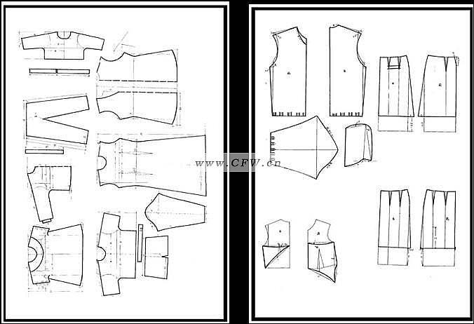 手工制版-其它設計設計-服裝設計