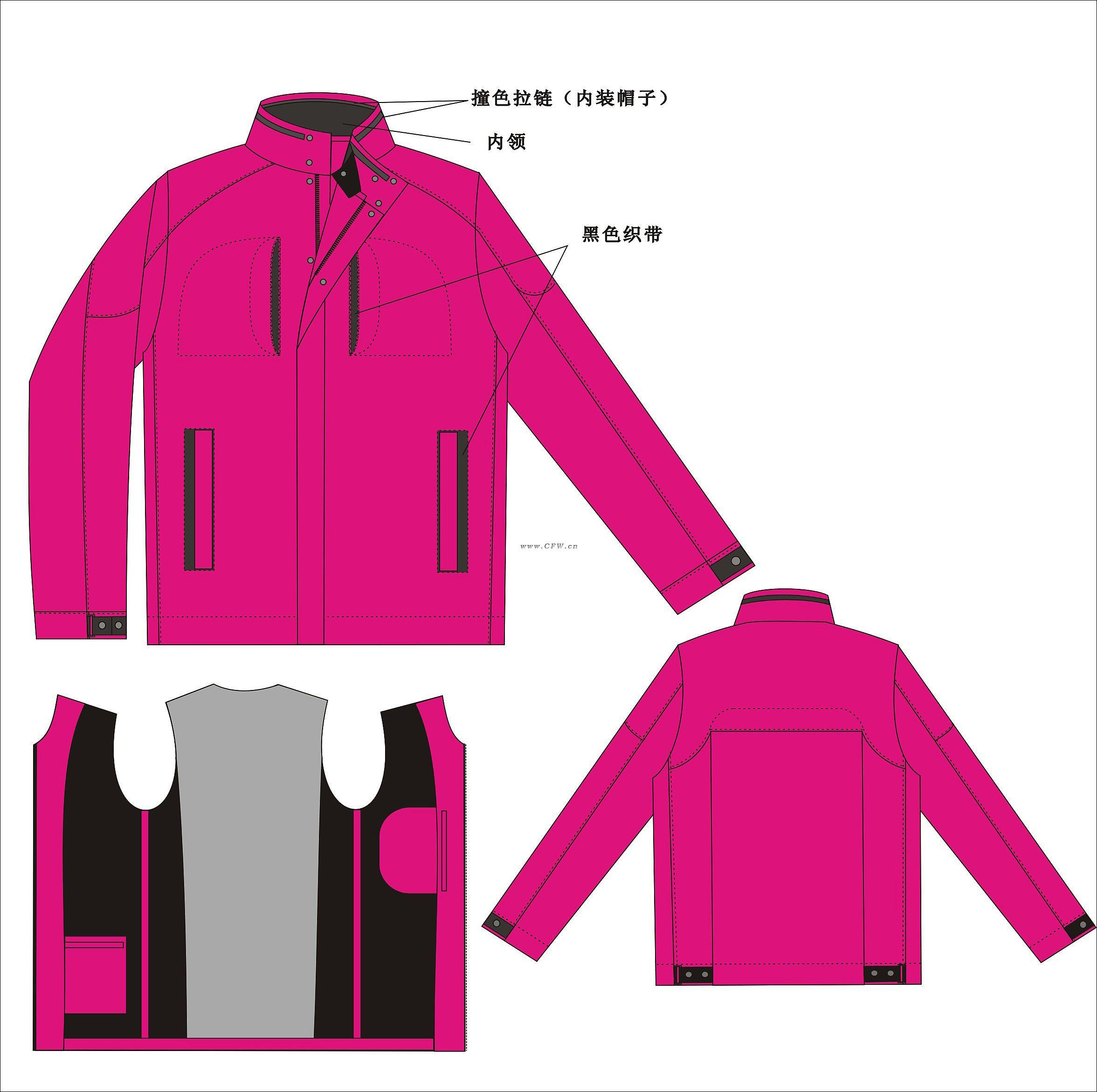 服装 设计 矢量 矢量图 素材 运动衣 2353_2344