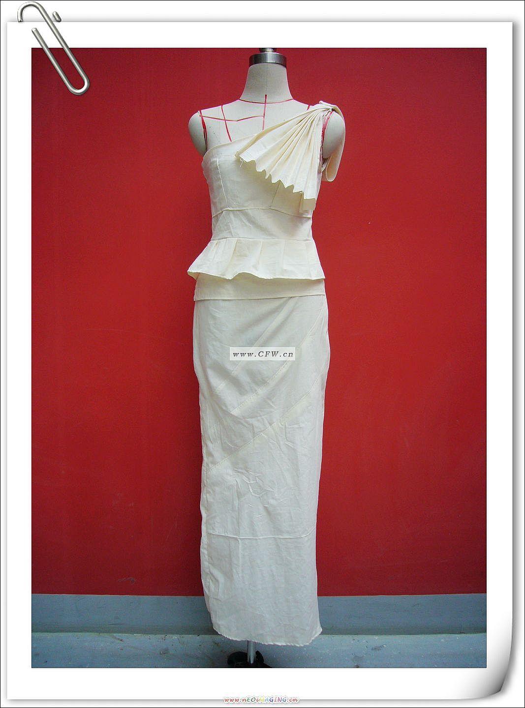 立裁作业-婚纱礼服设计-服装设计